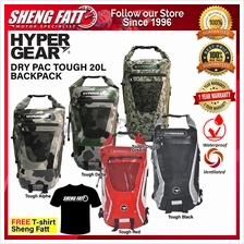 HYPERGEAR DRY PAC TOUGH 20L Backpack 1 Year Warranty (Ready Stock ‎)