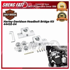 Harley-Davidson ® Chrome Head bolt Bridge Kit Cover 44432-04 - [ORIGINAL])