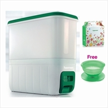 [Free Gift] Tupperware RiceSmart Dispenser 10kg FREE Wash N Strain 2.1L worth
