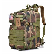 Lixada 30L Assault Pack Army Molle Bug Out Bag (camouflage 4)
