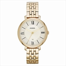 Fossil Women's Jacqueline Three-Hand Gold-Tone Stainless Steel Watch - ES3434