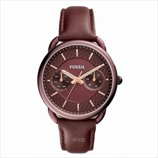 Fossil Women Tailor Multifunction Wine Leather Watch - ES4121