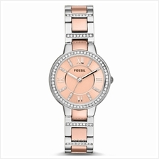 Fossil ES3405 Women's Virginia Three-Hand Two-Tone Stainless Steel Watch