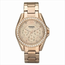 Fossil Women's Riley Mini Plated Stainless Steel Watch - ES2811
