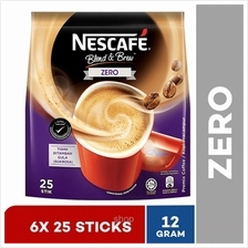 Nestle Nescafe Blend  & Brew Gen2 Zero (25x12g) (6packs))