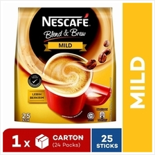 Nestle Nescafe Blend  & Brew Gen2 Mild (25x19g)(24 packs))