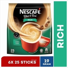 Nestle Nescafe Blend  & Brew Gen2 Rich (25x19g)(6packs))