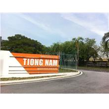 Factory : Tiong Nam Industrial Park 2, Shah Alam Section 15, Shah Alam