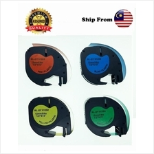 Dymo Compatible Quality Letra Tag Tape Label 91202 91203 91204 91205