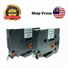 Brother Compatible Cartridge Label 9mm ~ TZe-121 & Tze-221