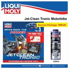 Liqui Moly JetClean Tronic Service - Petrol Motorbike (Over 700cc))