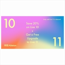Ableton Live 10 Suite, UPG from Live Intro (Full Download)