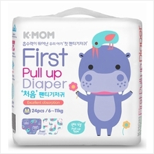 K-MOM First Pull Up Diaper M 24pcs (6kg - 11kg) - 11% OFF!!)