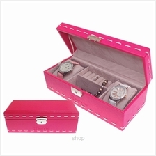 [SALE] Bello  & Beo DIVON Jewellery Case  & Watch Organiser Pink - S198 (PNK.G)