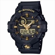 Casio G-Shock Analog-Digital Black Dial Men's Watch - GA-710B-1A9DR