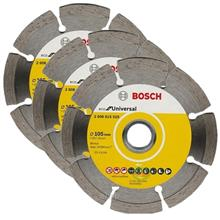 Bosch 4 Inch Eco Diamond Disc (105x16/20mm) Segmented Universal (3pcs) - 26086