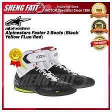 Alpinestars Faster 2 Boots (Black/ Yellow FLuo/Red) - ORIGINAL)