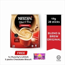NESCAFE Blend and Brew Ori 20g, Buy 1 Free 1 Munchy's LEXUS