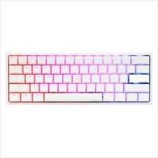 # DUCKY One 2 Mini RGB 60% White Mech. Keyboard # 6 Switch Avlbl