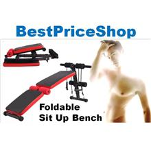 Multifunction Foldable Ab Crunch Sit Up Bench - Fast 6 Packs Abs