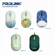 PROLiNK 2019 Raya Limited Edition USB Optical Mouse PMC1006