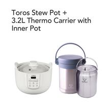 Toros Stew Pot + Buffalo 3.2L THERMO CARRIER WITH INNER POT