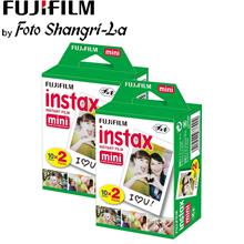 Fujifilm Instax Film Instax mini Film Twin Pack (x2) 40 Sheets