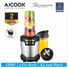 Aicook WBL003 AutoIQ Bullet Blender 1200W 24000RPM High Speed Professional Nut)