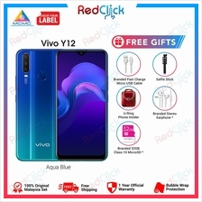 VIVO Y12 (3GB/32GB) + 3 Free Gift Worth RM109