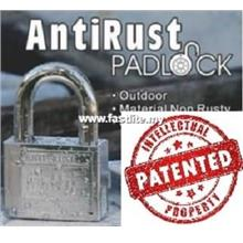 UfO brand Anti Rust 50mm padlock with AFIMT (Patented) system