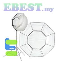 LS Pro LED608A Octagon Shape LED Light with Softbox