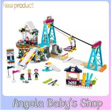 41324 Friends SNOW RESORT SKI LIFT Building Blocks Girls Figures Model