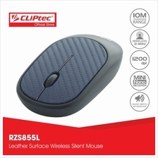 CLiPtec RZS855L 2.4Ghz Wireless Leather Silent Mouse RZS855L