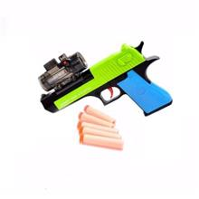 Super Power Shooting Toy Gun With Soft Foam Bullets Game Gift Present