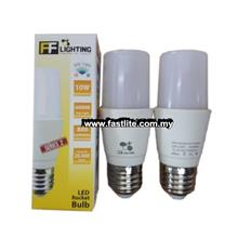 2 x FF 10w E27 LED Cool Daylignt Stick bulb