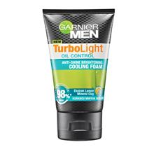 GARNIER MEN Turbo Light Oil Control Cool Foam 50ml