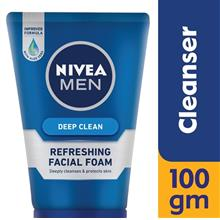 NIVEA FOR MEN Men Deep Clean Facial Foam 100ml