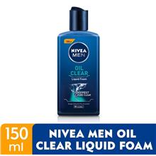 NIVEA FOR MEN Oil Clear Liquid Foam 150ml