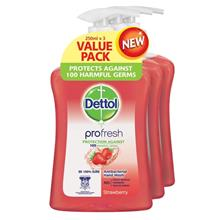 DETTOL Dettol HWash Strawberry 3X250ML)
