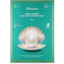 JM Solution Marine Luminous Pearl Deep Moisture Mask Pearl (10pcs)