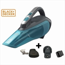 Black  & Decker 10.8V Wet  & Dry Vacuum Cleaner - WDA320B)