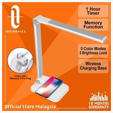 TaoTronics 13W DL047 Dimmable Desk Lamp Smartphone Wireless Charging)
