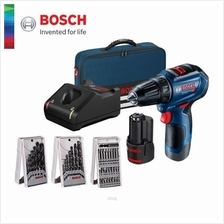 Bosch GSR 12V-30 Professional Cordless Drill Driver (with 2 Batteries, 1 Charg
