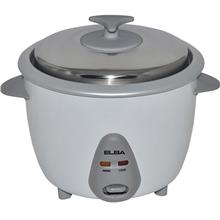 Elba 1L Traditional Rice Cooker - ERC-1066T(WH))