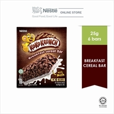 NESTLE KOKO KRUNCH Cereal Bar 6 sticks, 25g)