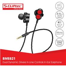 CLiPtec 2Sonic Dual Dynamic Drivers In-Ear Earphone BME821
