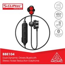CLiPtec Bluetooth 5.0 Dual Dynamic Drivers Stereo Earphone BBE104