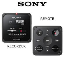 SONY ICD-TX800 WITH BUILT-IN MICRO USB AND REMOTE CONTROL)