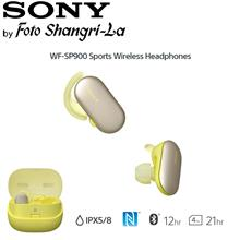 Sony WF-SP900 Sports Wireless In-Ear Headphones Ambient Sound (Yellow)