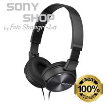 SONY MDR-ZX310 FOLDABLE HEADPHONES - METALLIC BLACK)